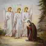явление св. Троицы прп. Александру