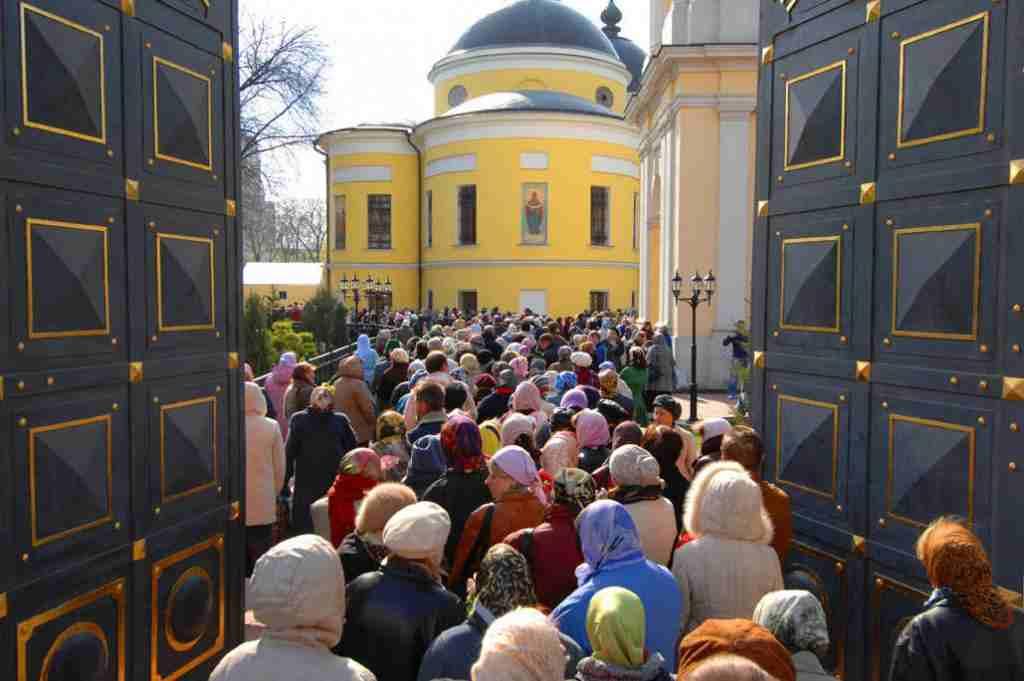 Монастырь где находится матрона московская