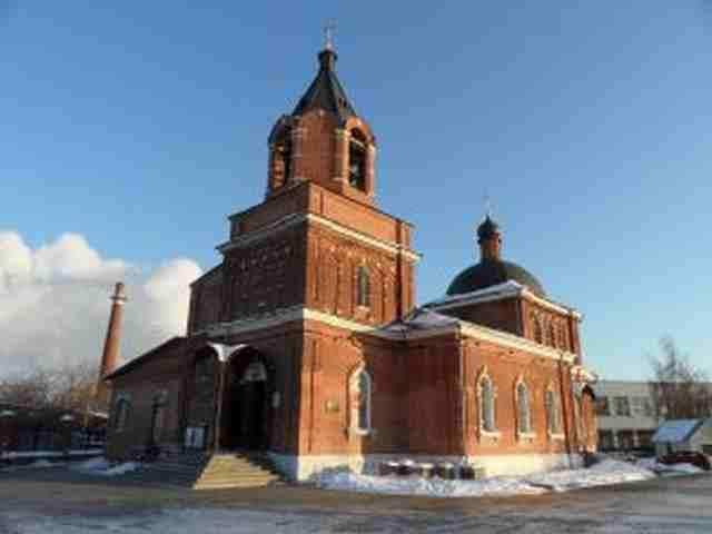 Церковь великомученика георгия бусиново