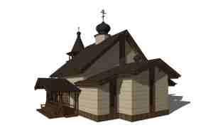 Шоссе Энтузиастов 57-59 проект малого храма 1