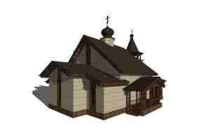 Шоссе Энтузиастов 57-59 проект малого храма 2