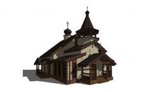 Шоссе Энтузиастов 57-59 проект малого храма 4